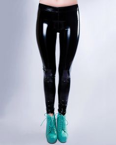 Hey, I found this really awesome Etsy listing at https://www.etsy.com/listing/177123740/ultra-shiny-black-assassin-pvc-leggings