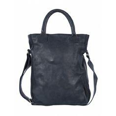 Leather Cowboysbag Bag Dover Navy