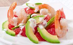 The Ultimate Prawn Cocktail Raw Food Recipes, Veggie Recipes, Healthy Recipes, Vegan Food, California Salad, Shrimp Avocado Salad, Health Eating, Healthy Cooking, Food Inspiration