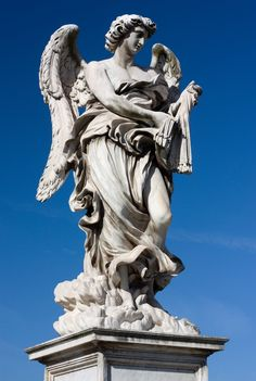 Angel with the Whips     The bridge was built in about 133 to link the mausoleum of Hadrian to the left bank of the Tiber, but very little remains of the original structure. designed by Bernini.