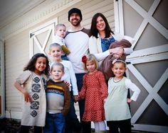 Awesome Large Family/Adoption Blog