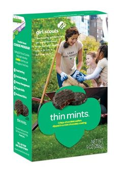 Girl Scout Thin Mints Cookies 9 OZ *** Check out this great product.(It is Amazon affiliate link) #commentteam