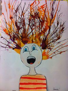 Le cri de Munch (en lien avec l'étude en littérature de Barbe Bleue).
