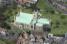 St Nicholas Church - Great Yarmouth Aerial Images   by John D F