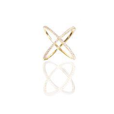 X Ring Xena 925 Silber Gold