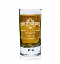 Diamond Bubble Shot Glass | Glassware | Exclusively Personal