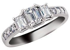 18K Palladium White Gold w/ 1.00ctw Anniversary Ring...... LOVE!!