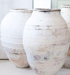 vintage pottery . patina