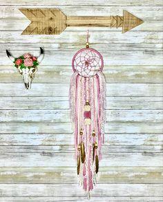 Boho Nursery, Nursery Wall Decor, Girl Nursery, Yarn Wall Hanging, Wall Hangings, Bohemian Baby, Boho Wedding Decorations, Dream Catcher Boho, Boho Dreamcatcher
