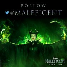 Click the image and follow #Maleficent on Twitter by 9AM tomorrow. Something big is coming.