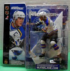McFarlane Sports Picks NHL Series 2 PRONGER St Louis Blues MIP Hockey Figure /'01