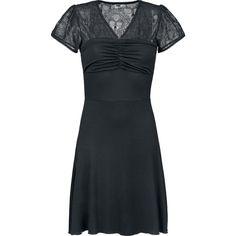 Skull Lace Dress por Black Premium by EMP