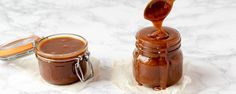 Three ingredients are all you need to quickly make smooth and creamy homemade caramel sauce. You won't believe how easy it is to make fresh caramel at home! This will be your go-to recipe. Caramel Treats, Caramel Recipes, Milk Recipes, Candy Recipes, Cooking Recipes, Baked Teriyaki Chicken, How To Make Caramel, Homemade Caramel Sauce, Soft Sugar Cookies