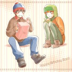 All credit goes to the wonderful artist! South Park Anime, South Park Fanart, Wattpad, Fanfiction, Kai, Style South Park, Kyle Broflovski, Stan Marsh, Woodworking Projects Plans