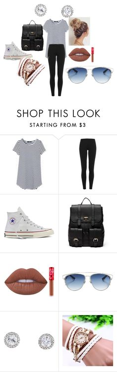"""""""Beach"""" by indiekid on Polyvore featuring Polo Ralph Lauren, Converse, Sole Society, Lime Crime and Christian Dior"""