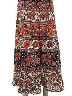 Wrap Around Skirt, Summer Skirts, Boho, Amazon, Printed, Cotton, Amazons, Riding Habit, Amazon River