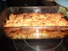 Crumble aux pommes rapide 20 Min, Lasagna, Macaroni And Cheese, Cooking, Ethnic Recipes, Food, Deserts, Vegetarian Desserts, Butter