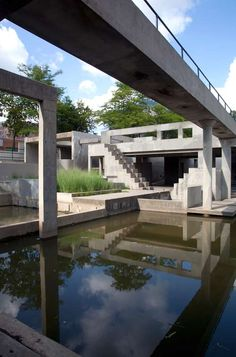 Lawrence Halprin, Riverbank Park, Flint, MI 1975-79