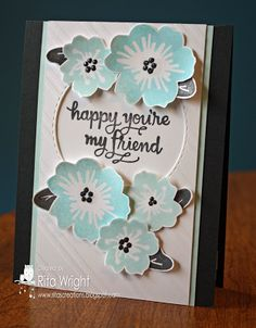 Flowers for a Friend by kyann22 - Cards and Paper Crafts at Splitcoaststampers