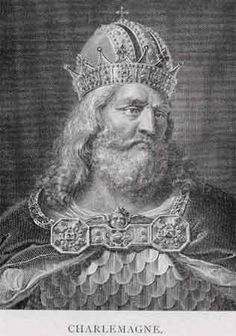 """""""Charlemagne"""" Charles The Great Emperor of the HOLY ROMAN EMPIRE; 740-813; my 28th great grandfather"""
