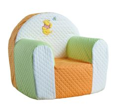 This Has The Soft Orange Sherbert Color With Almost A Mint Green Cheerful Winnie Pooh Baby Nursery Furniture Set Light And White