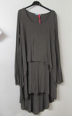 Lagenlook Clothing in Europe | maria s boutique lagenlook layered top charcoal grey lagenlook is a ...