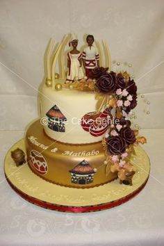 African Wedding Cakes | ... Cakes, 21st Cakes, Corporate Cakes: Gallery: Cakes: African Wedding Traditional Wedding Decor, African Traditional Wedding, Traditional Cakes, Cupcake Birthday Cake, Cupcake Cookies, African Wedding Cakes, African Weddings, African Cake, African Theme