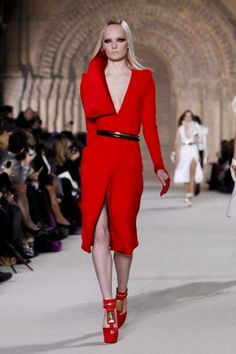 Stephane Rolland Spring Summer Couture 20123color my world with red