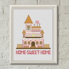 Cross stitch pattern by Avrora CS  #crossstitch #xstitch #xstitching #crossstitchpattern #xstitchpattern #homesweethome