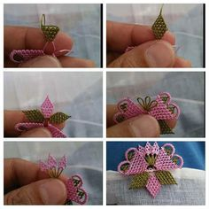 Şık bir oya örneği yapılışı #crochet #örgü #needle #iğneoyası #iğneoyaları #yazma #elisi