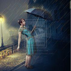 April Rain by MirellaSantana.deviantart.com on @deviantART