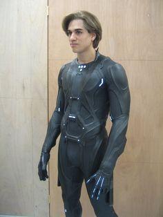 Tron Legacy Rinzler suit by Goblin Bones Tron Costume, Armadura Cosplay, Combat Suit, Tron Legacy, Futuristic Armour, Sci Fi Armor, Superhero Design, Armor Concept, Future Fashion