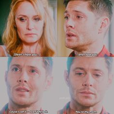This scene! Jensen absolutely crushed this scene! He was amazing and this scene broke my fucking heart!