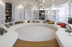 google-london-hq-office-by-penson. Some day we will have a never ending couch