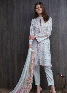 Pakistani Dress Design, Pakistani Dresses, Beautiful Suit, Lawn Suits, Neck Pattern, Chic Outfits, Kurti, Designer Dresses, Kimono Top