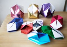 BLOW ME Retro style Metallic color  geometric by BlessingHand, $18.00