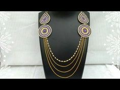 How Make Bridal Necklace //How To Make Designer Necklace // DIY // Home Made Tutorial - YouTube