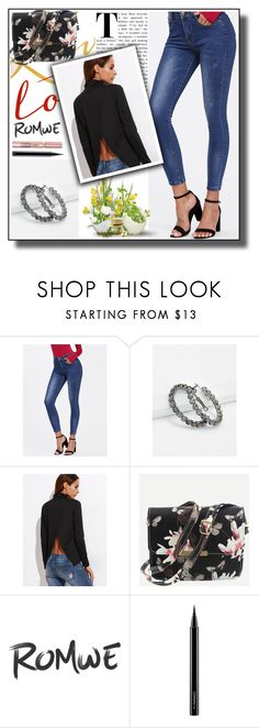 """""""Romwe10"""" by adelisa56 ❤ liked on Polyvore featuring L'Oréal Paris and MAC Cosmetics"""