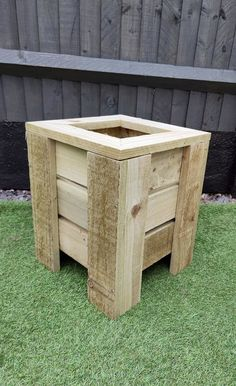 This beautiful Deep Garden Planter is an essential part of any garden.This raised bed allows for more planting due to the increased depth meaning higher quality, aerated soil for your plants. The raised bed is ideal for patios or small gardens and is a wonderful way to grow your own delicious fruit, vegetables, herbs and gorgeous flower displays even in the smallest of gardens. Features and Benefits- Sturdy – Built with strong pressure treated timber, this unit is long-lasting and robust giving Outdoor Planter Boxes, Garden Planters, Pressure Treated Timber, Delicious Fruit, Grow Your Own, Small Gardens, Raised Beds, Industrial Style, Planting