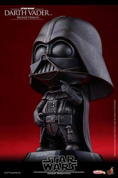 Star Wars: Darth Vader & Stormtrooper Cosbaby (Bronze Version) Coming Soon