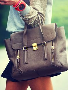 Pashli Leather Satchel by 3.1 Phillip Lim