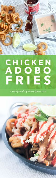 To say I'm addicted to these Chicken Adobo Fries is an understatement because I've been enjoying them 3 times a week! Now it's your turn to enjoy them too!