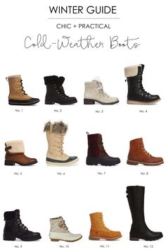 You don't have to sacrifice style for warmth when it comes to winter boots. Here's a guide to the best boots that will keep your feet toasty and dry!