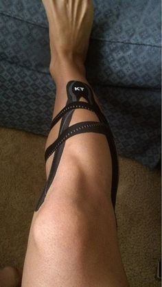 KT Tape Pro for shin splints   by Recover Faster, Play Harder