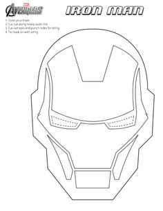 DIY THE AVENGERS MASK PRINTABLES! FUN MARVEL THE AVENGERS CRAFT FOR KIDS!