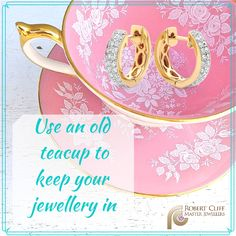 A beautiful #DIY way to store your #jewellery..  #jewellerytips #jewellerycare #jewelrytips #jewelrycare #jewellery #jewelry #jewelleryaddict #jewelryaddict #jewelrylover