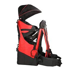 6c0cdef0468 Clevr Cross Country Baby Backpack Hiking Carrier with Stand and Sun Shade  Visor Child Kid toddler