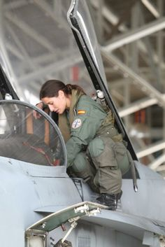 Spanish Air Force pilot - #Female #Pilots #Spanish