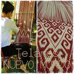 Waiving Mapuche loom.... ///  Tejiendo telar Mapuche... Pua, Macrame, Weaving, Home Decor, Weaving Looms, Needlepoint, Decoration Home, Room Decor, Interior Design