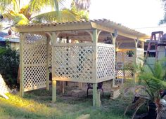 how to build a shade house for plants